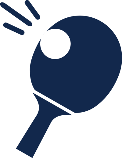 table tennis sport ping pong paddle icon