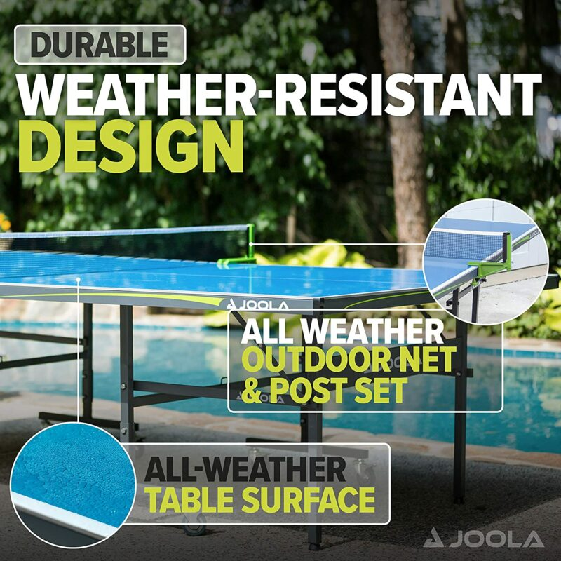 outdoor ping pong table from joola
