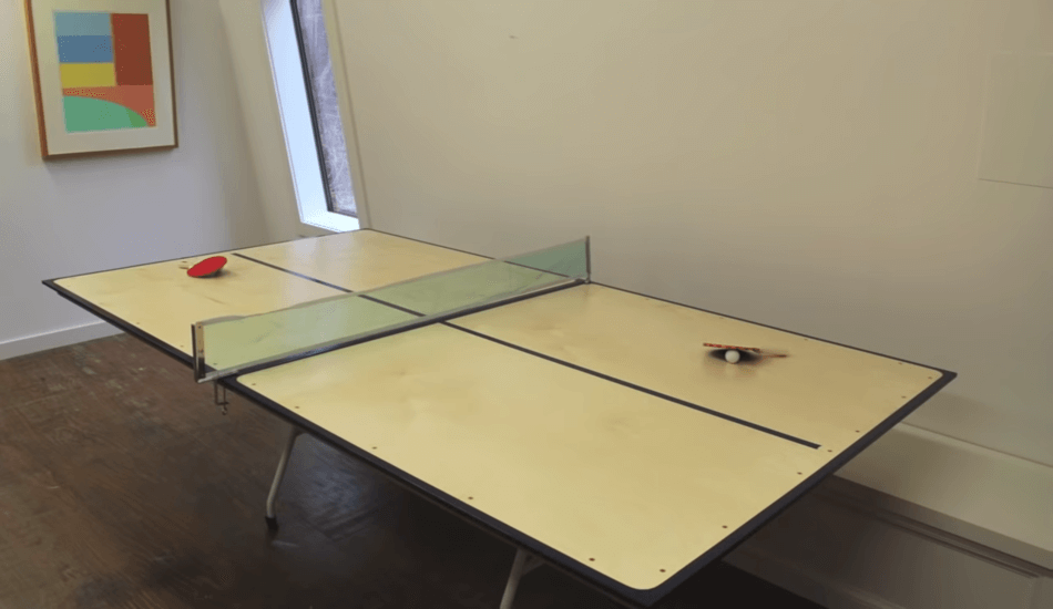 undersized ping pong table