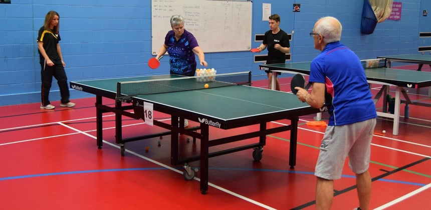 The Cooke and Deaton Table Tennis Summer School
