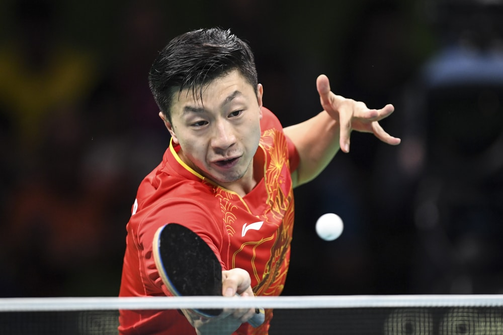 The table tennis player Long MA